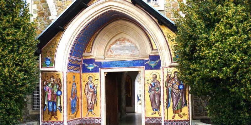 Eingang Kykkos-Kloster