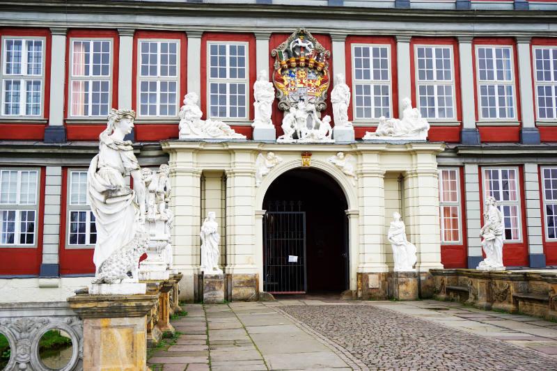Eingang zum Schloss Wolfenbüttel