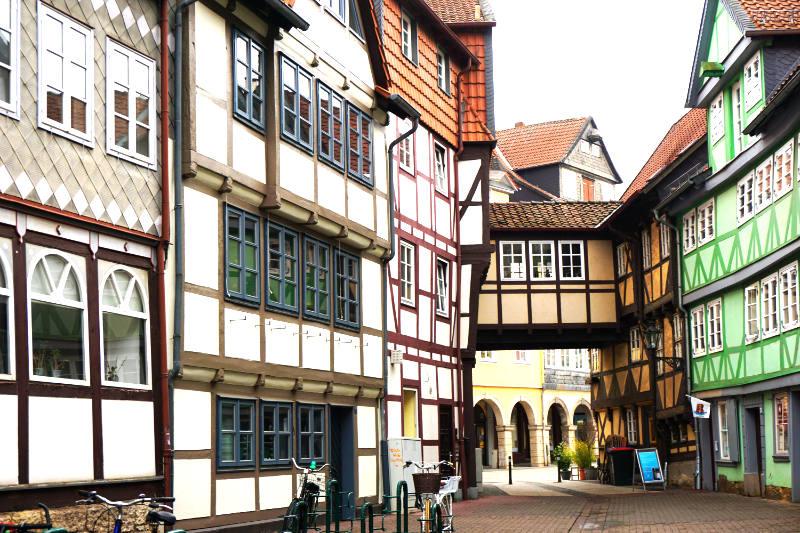 Fachwerkhäuser in der Altstadt von Wolfenbüttel