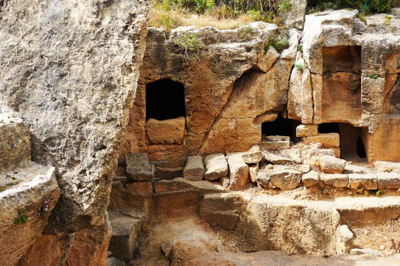 Grabkammern ber Königsgräber von Paphos