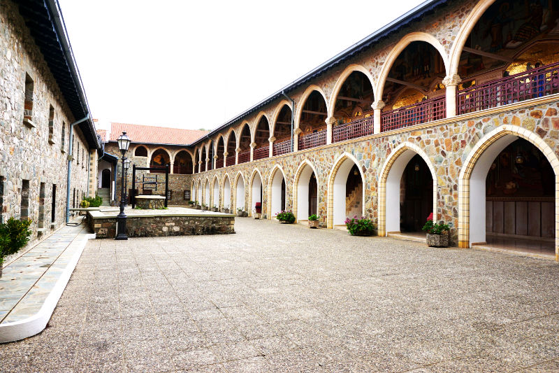 Innenhof Kykkos-Kloster
