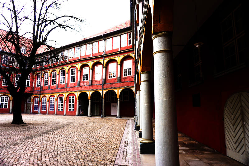 Innenhof Schloss Wolfenbüttel