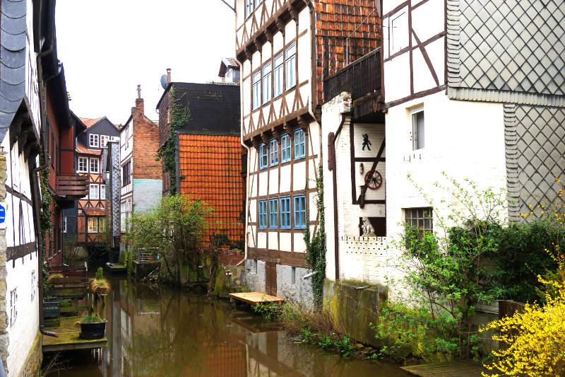 Klein Venedig in der Altstadt von Wolfenbüttel