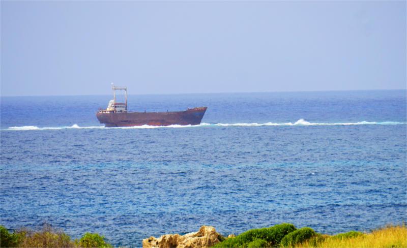 Schiffswracks vor Zypern