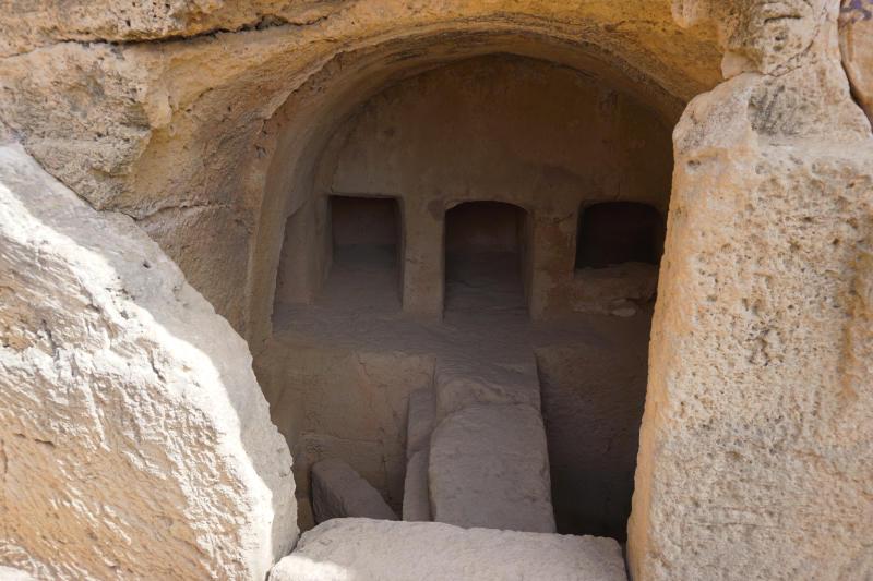 unterirdische Grabkammern Königsräber von Paphos