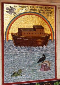 Kykkos-Kloster Wandbild