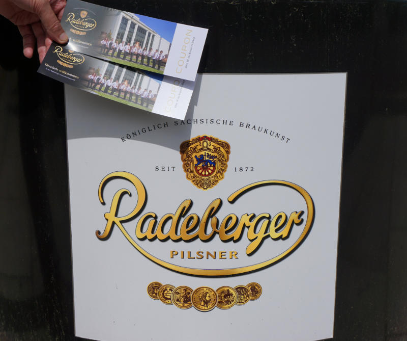 Radeberger export beer brewery
