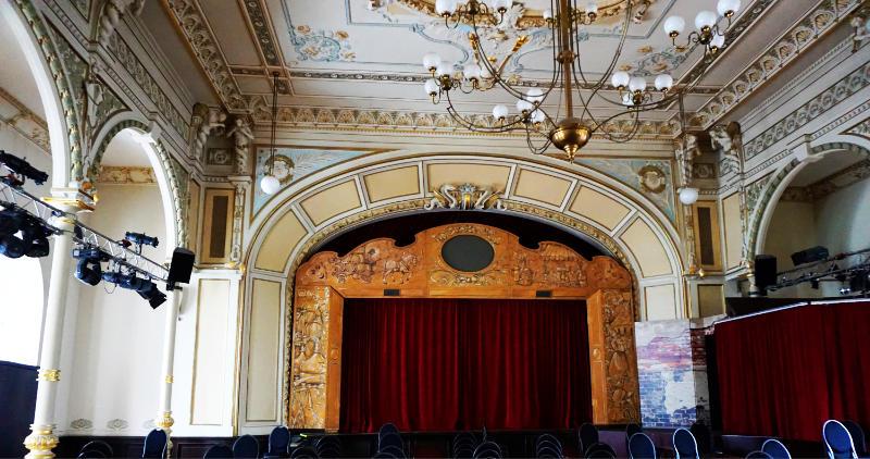 Theatersaal im Hotel Kaiserhof in Radeberg