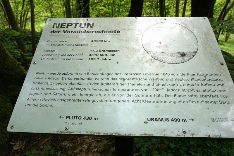 Neptun Planetenwanderweg Radeberg