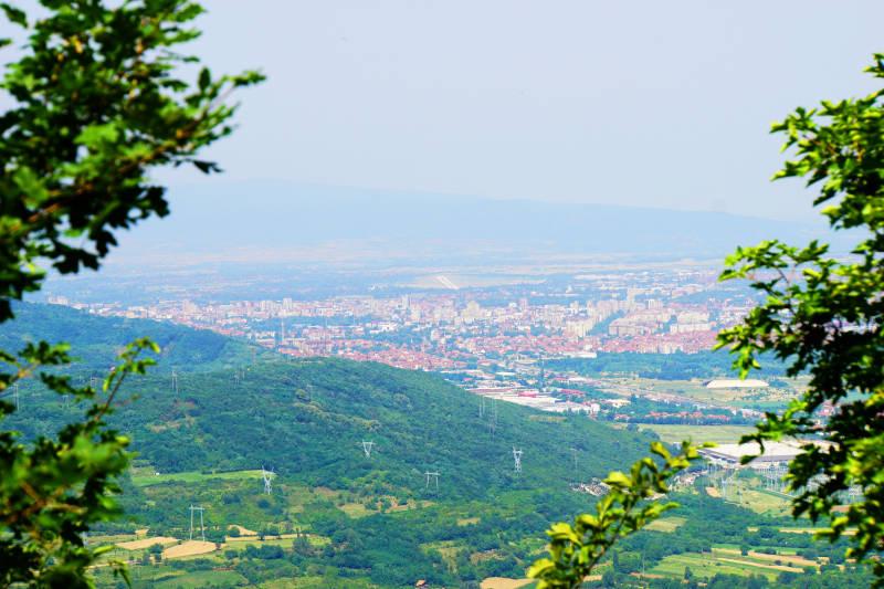 Ausblick auf Niš Serbien