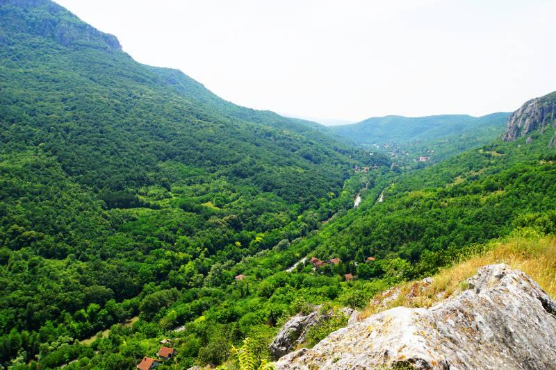 Aussichtspunkt bei Niš Serbien