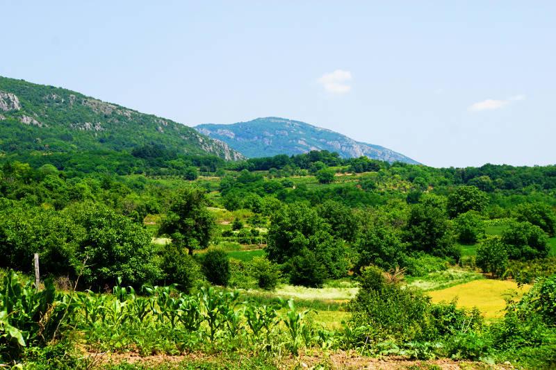 Zugfahrt von Niš nach Serbien