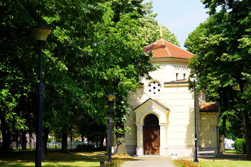 Serbien Niš, Schädelturm