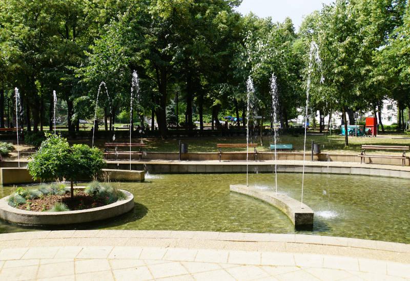 Kurpark Niška Banja, Niš Serbien