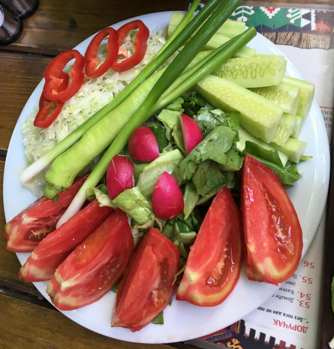 Salat in Belgrad