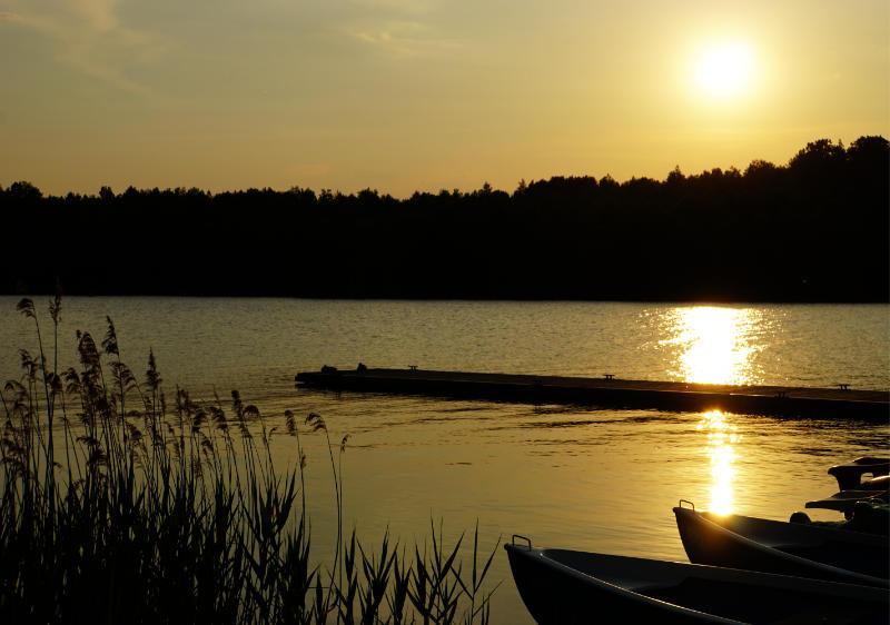 Sonnenuntergang Hafencamp