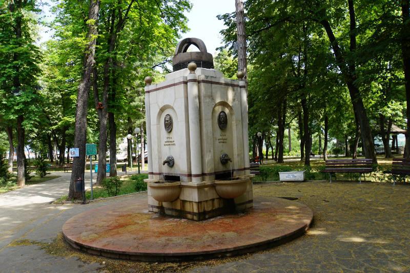 Trinkwasserbrunnen Niš Serbien, Niška Banja