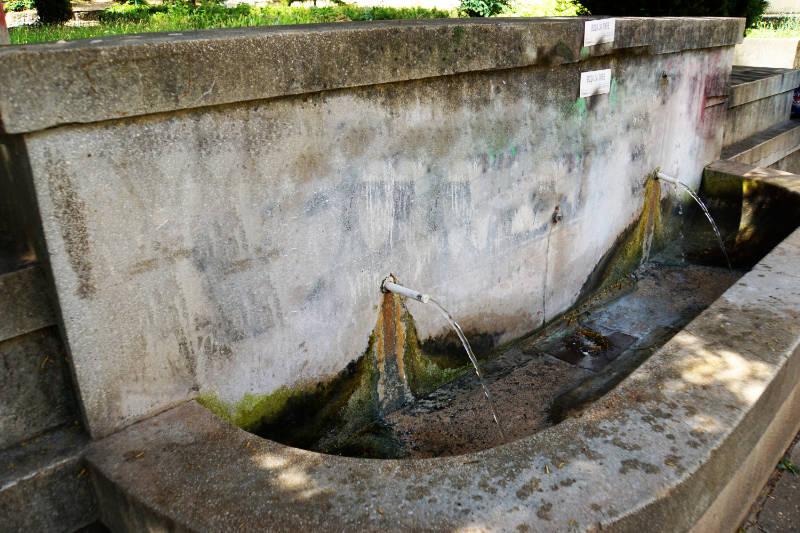 mineralhaltiges Wasser Niš Serbien Niška Banja
