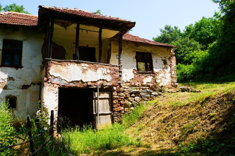 verlassener Ort in der Nähe von Niš Serbien