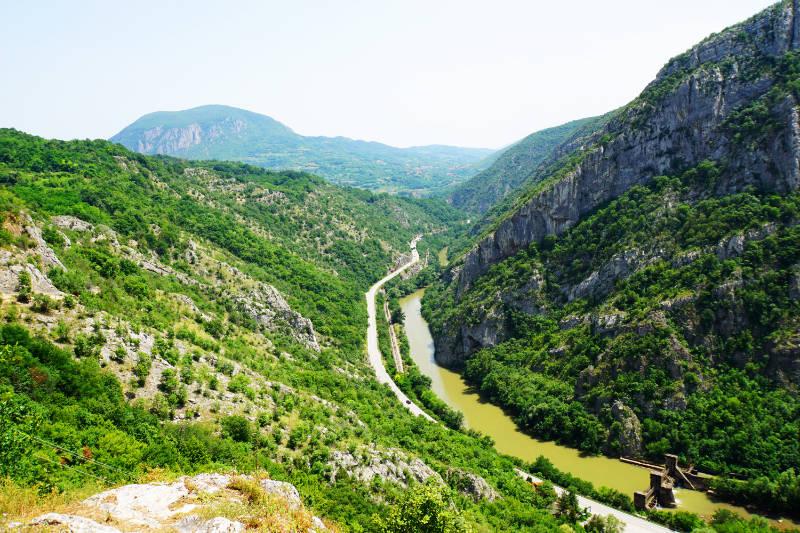 Aussichtspunkt in der Nähe von Niš
