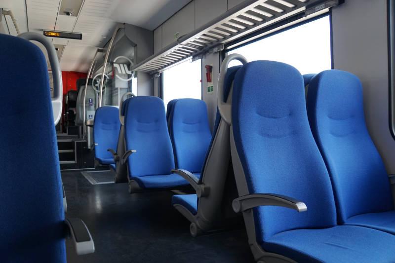 Zug von Niš nach Belgrag