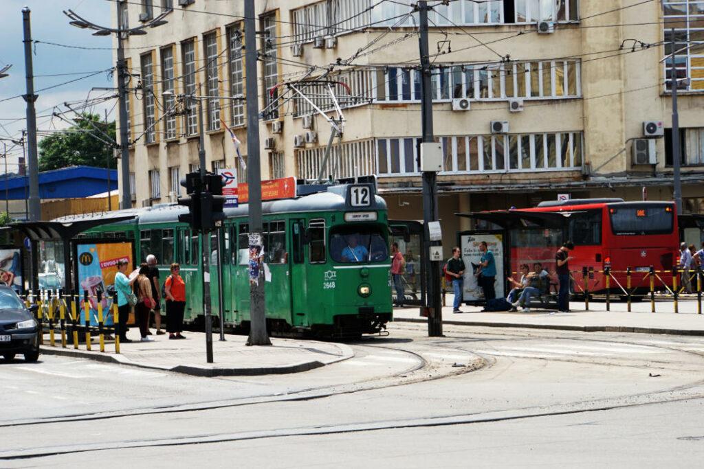 Belgrad öffentliche Verkehrsmittel Strassenbahn