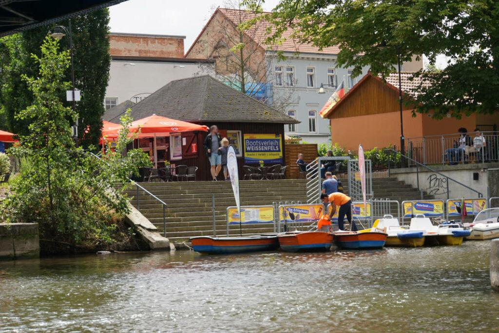Bootverleih Weißenfels