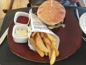 Burger im Hotel Best Western Halle-Merseburg