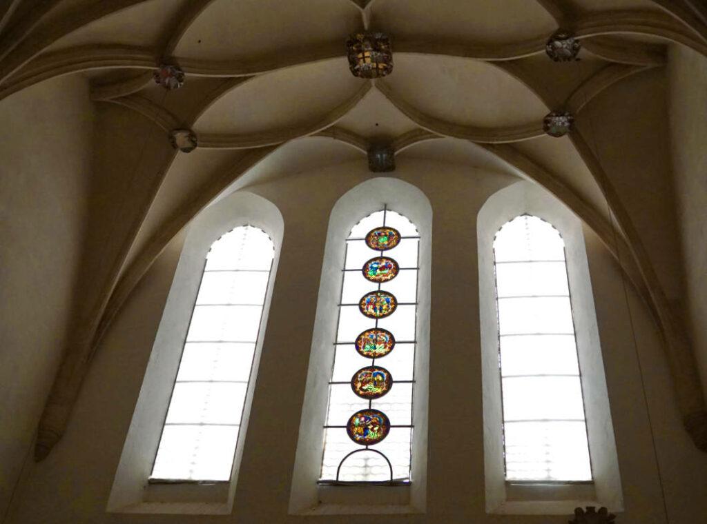 Fenster im Dom von Merseburg