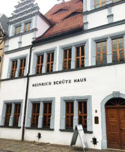 Heinrich Schütz Haus in Weißenfels