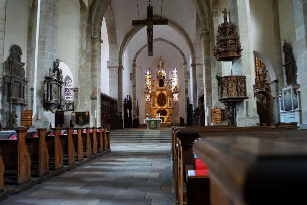 Kirchenschiff Dom Merseburg