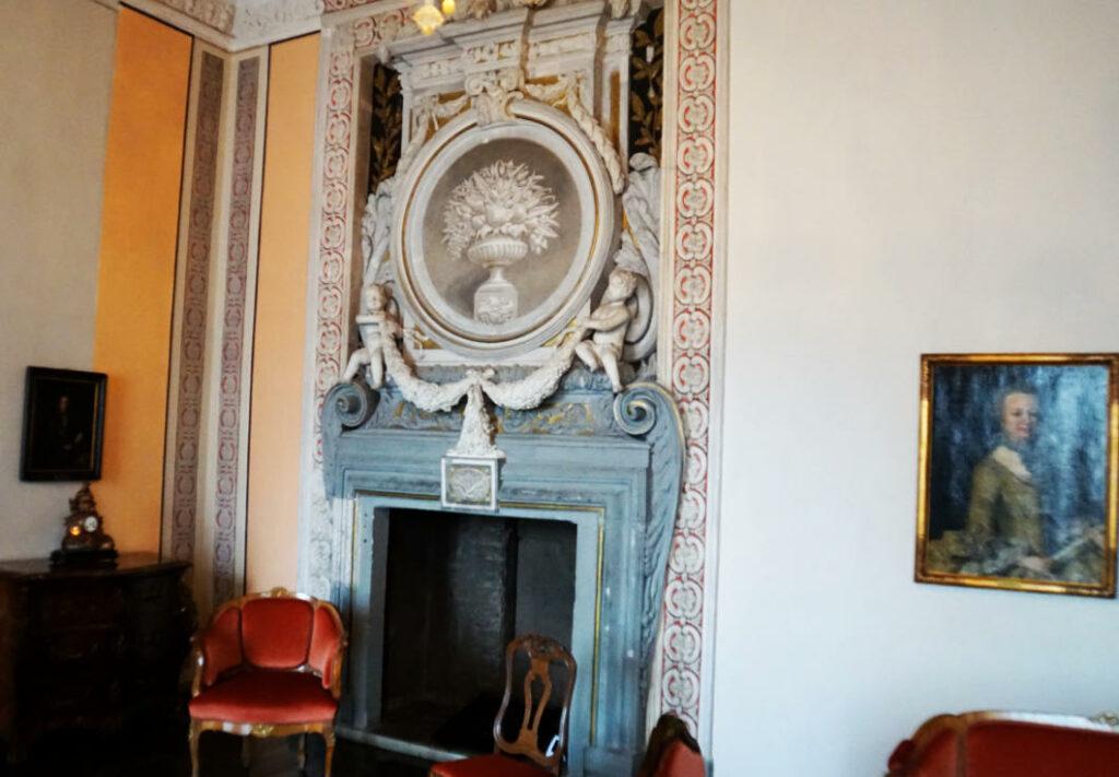 Raum im Schlosss Moritzburg