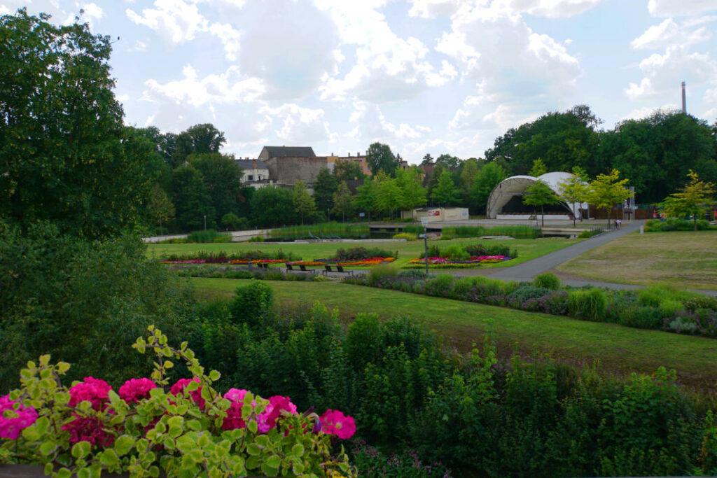Schlossgarten Zeitz - Bühne