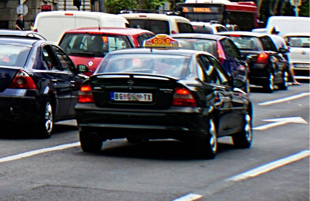 öffentlicher Verkehrsmittel Belgrad