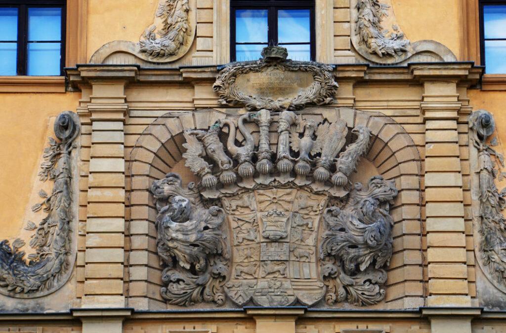 Wappen an der Moritzburg