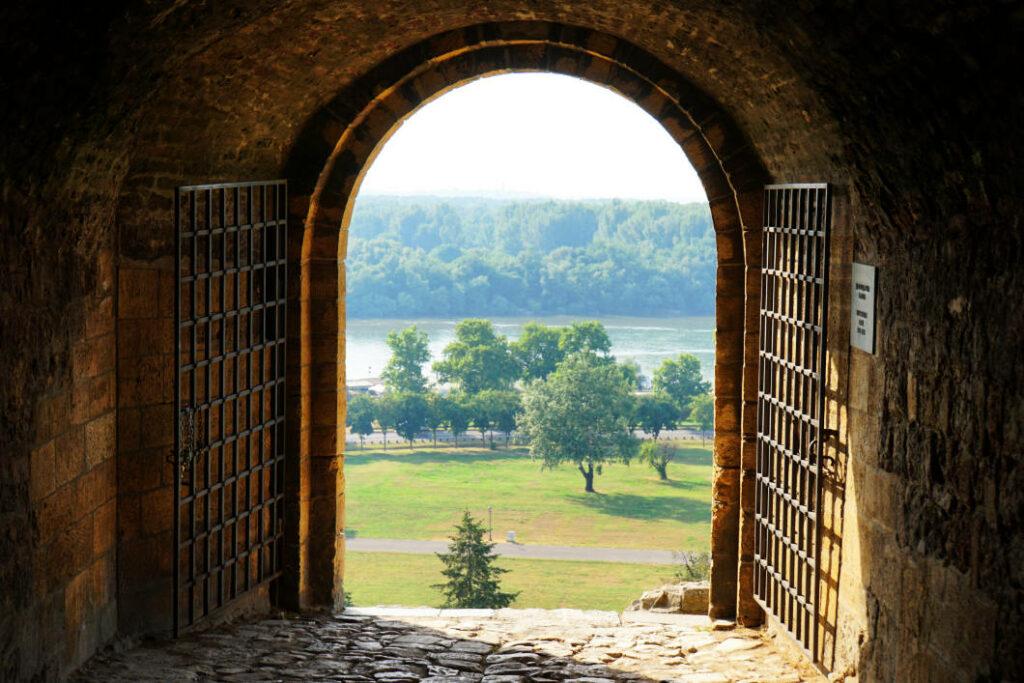 Belgrad entdecken - Blick aus der Festung