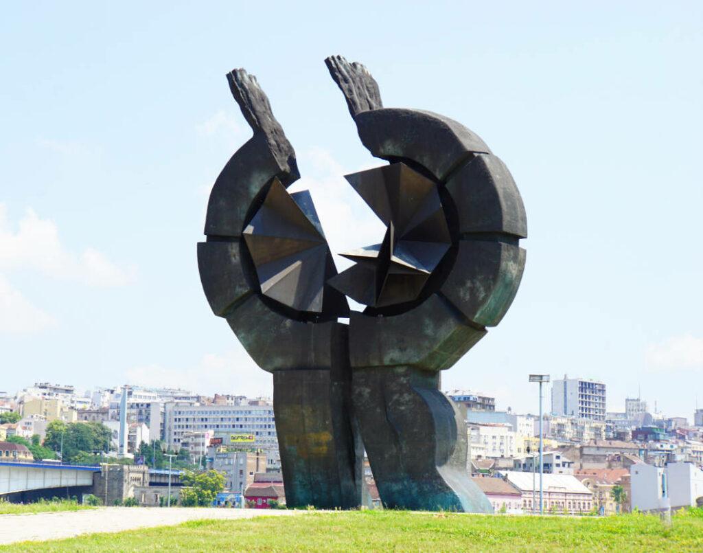 Denkmal Ermordung Juden in Belgrad