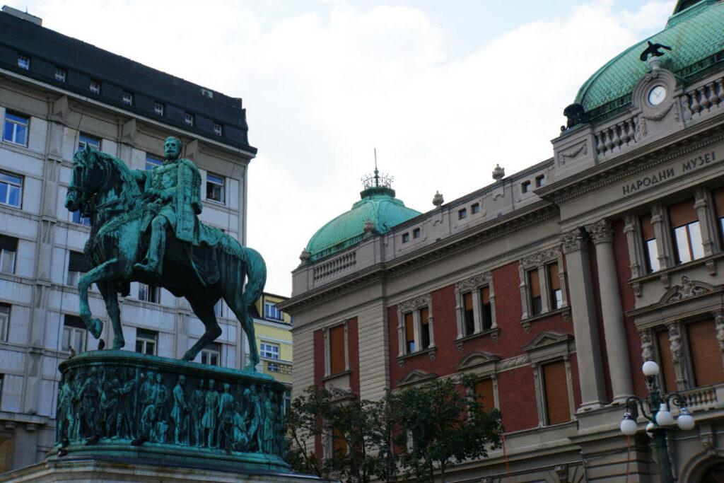 Reiterdenkmal Platz der Republik