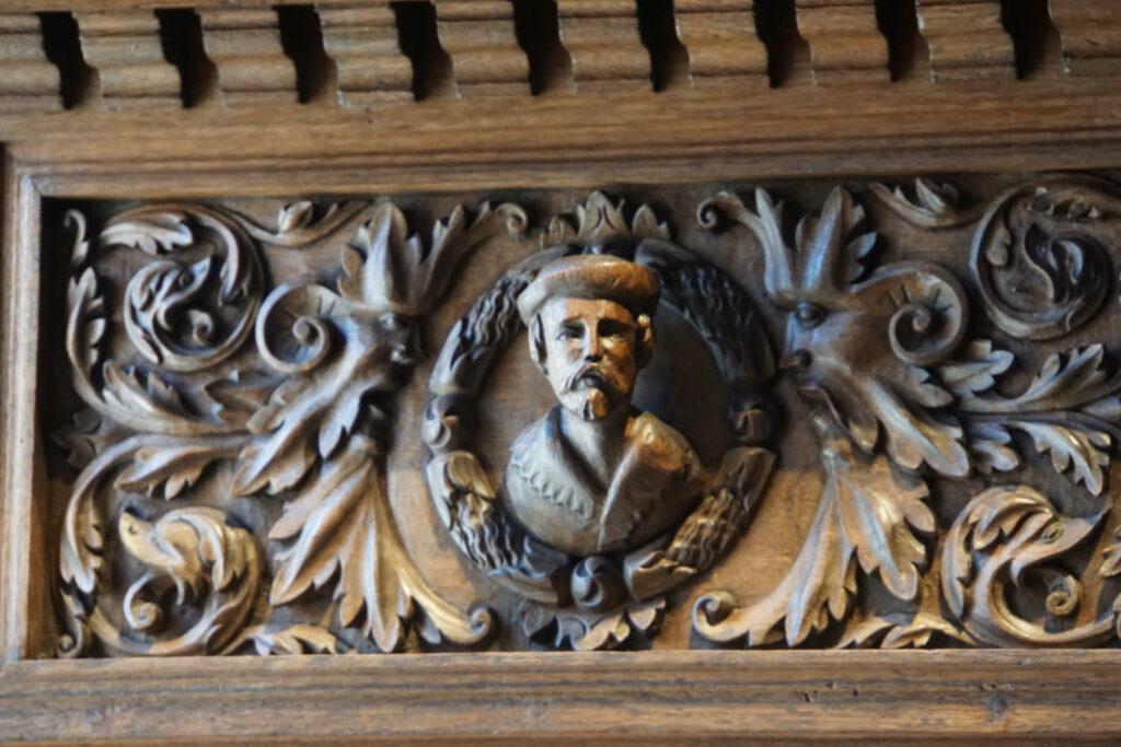 Detail aus Rathaus Münster