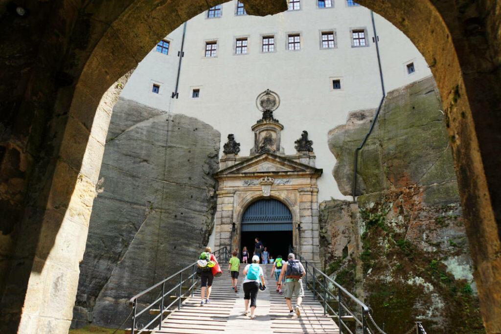 Eingang zur Festung Königstein