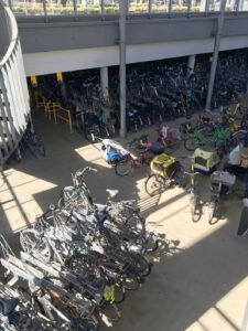 Fahrradparkhaus in Münster