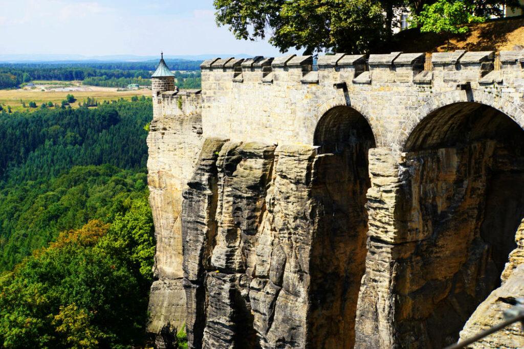 Festungsmauern Königstein