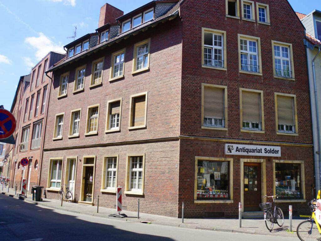 Drehort von Wilsberg in Münster