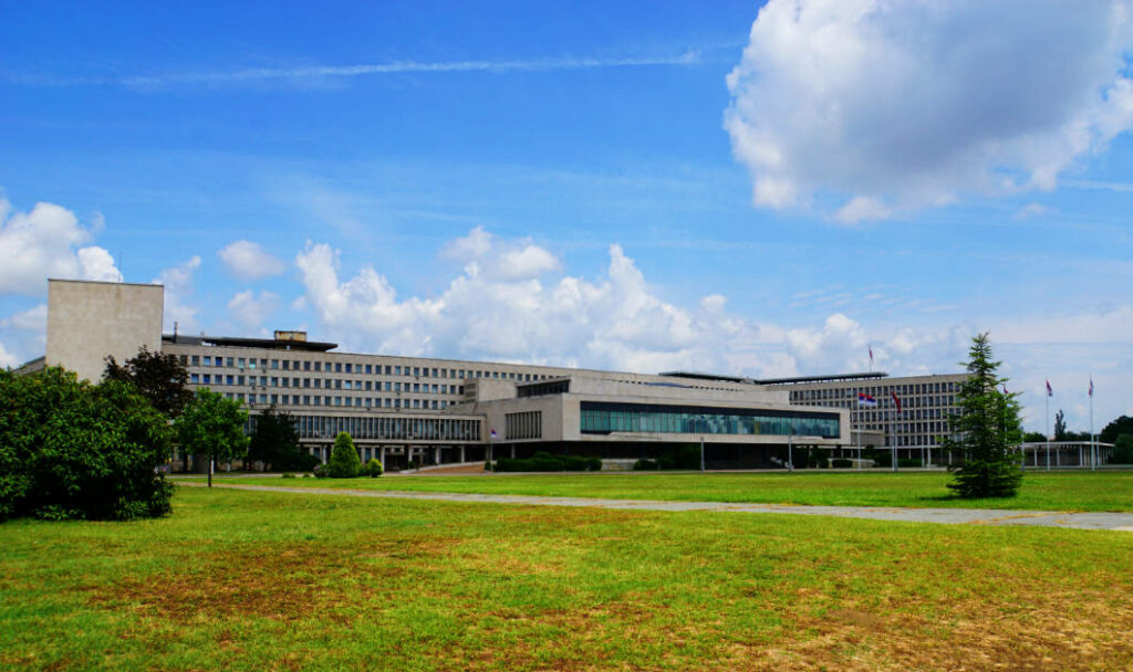 Belgrad entdecken - Palata Srbije