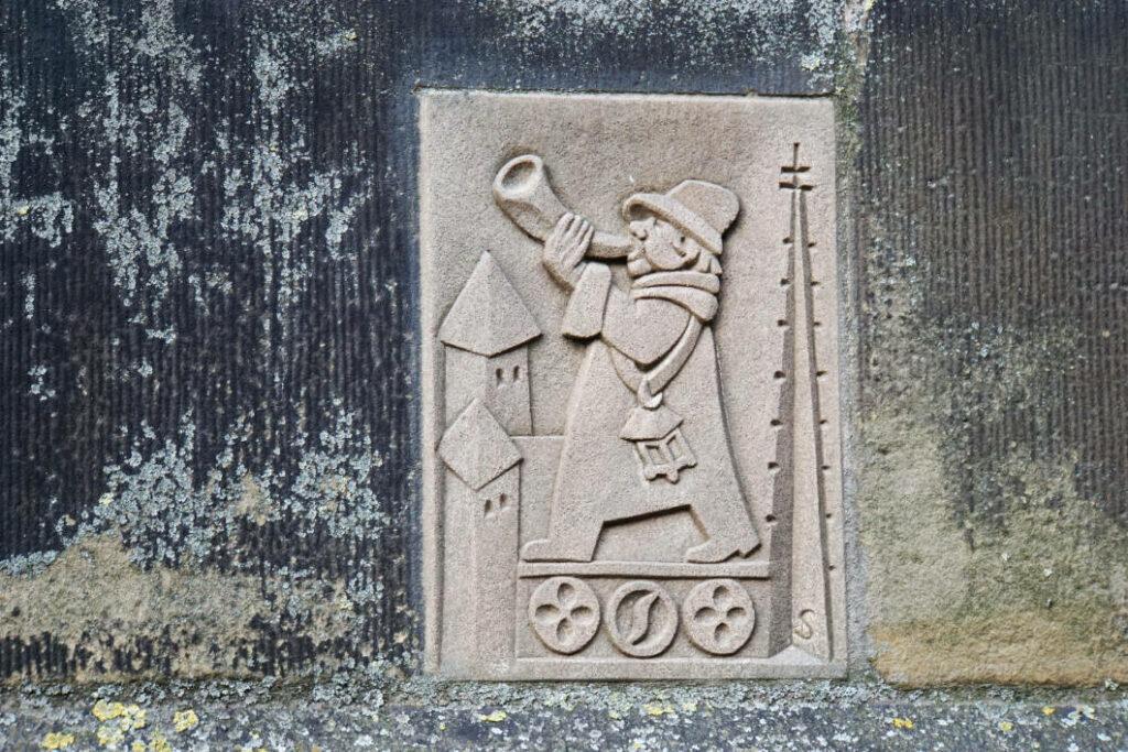 Türmerin von Münster - Zeichen an der Tür