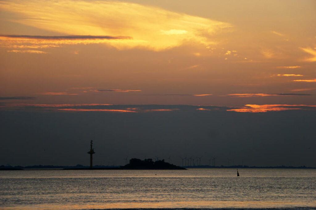 Sonnenuntergang am Pingelturm