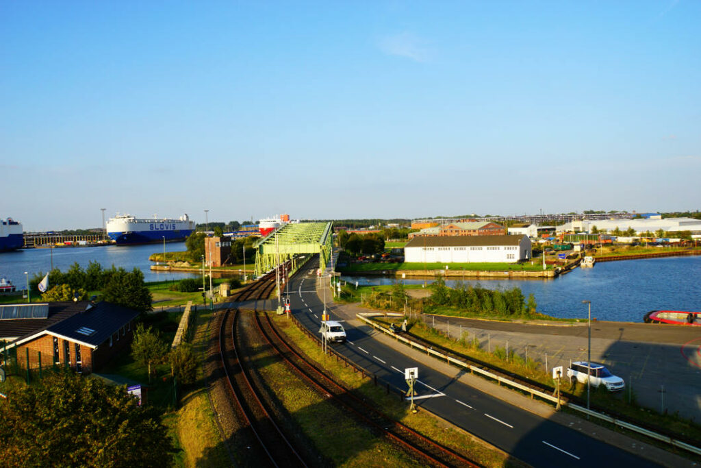 Bremerhaven - Blick vom Containeraussichtsturm