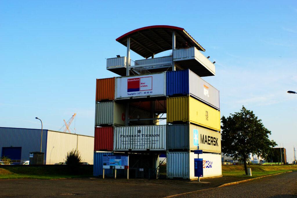 Bremerhaven - Container Aussichtsturm