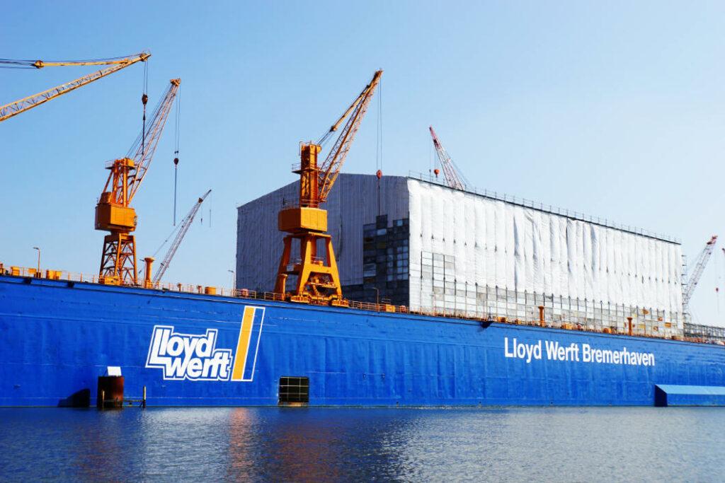 Werft in Bremerhaven