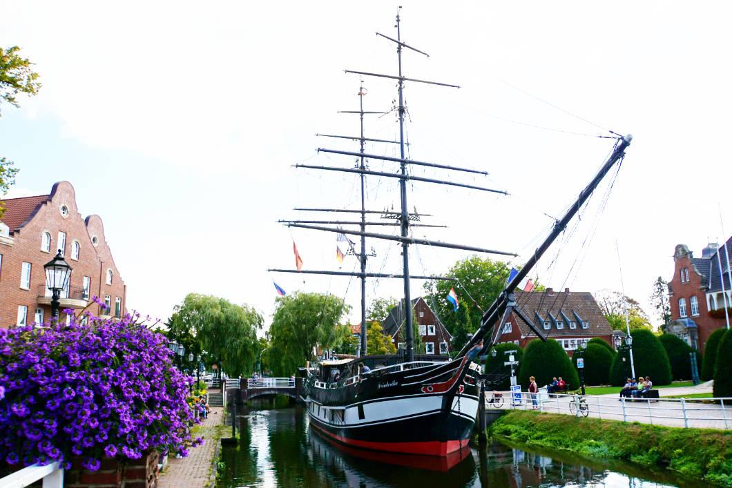 Museumsschiff in Papenburg - Brigg
